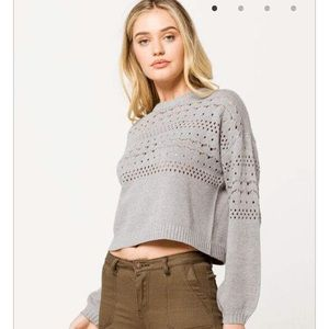 Ivy And Main Crop Sweater